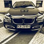 samochód na wynajem do ślubu BMW 750 Long Xdrive Diesel 381HP