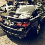 BMW 750 Long Xdrive Diesel 381HP tył