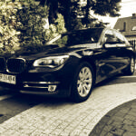 BMW 750 Long Xdrive Diesel 381HP z przodu