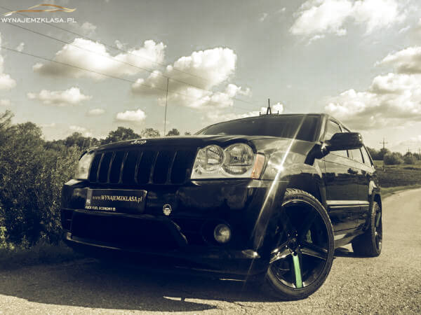 Jeep Grand Cherokee SRT8 450HP